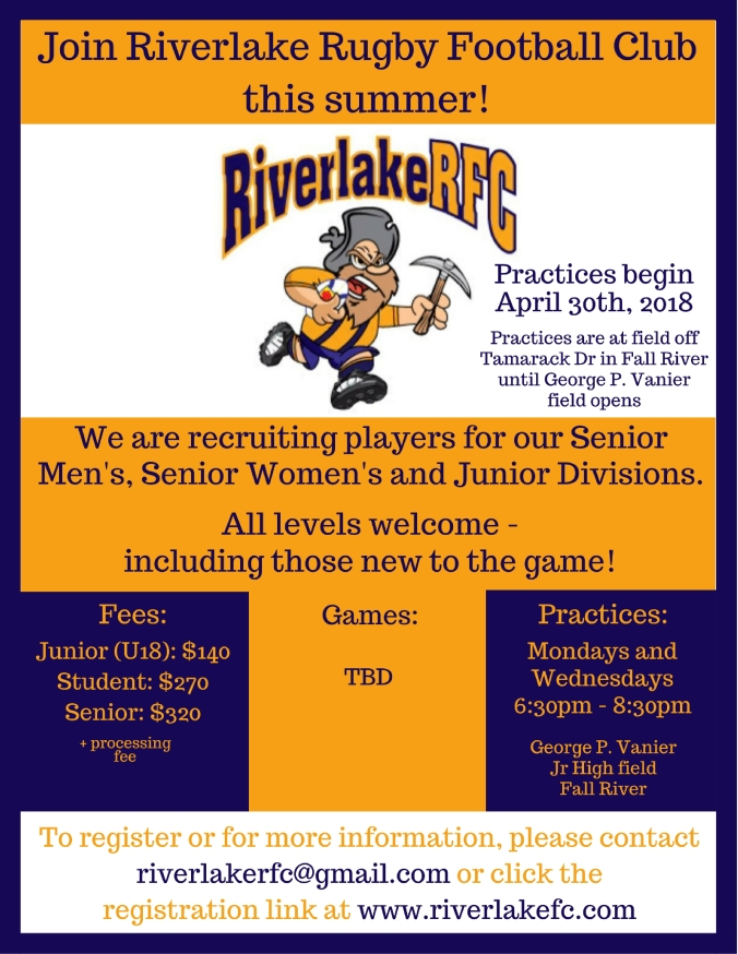 Riverlake Recruitment Poster Apr 2018